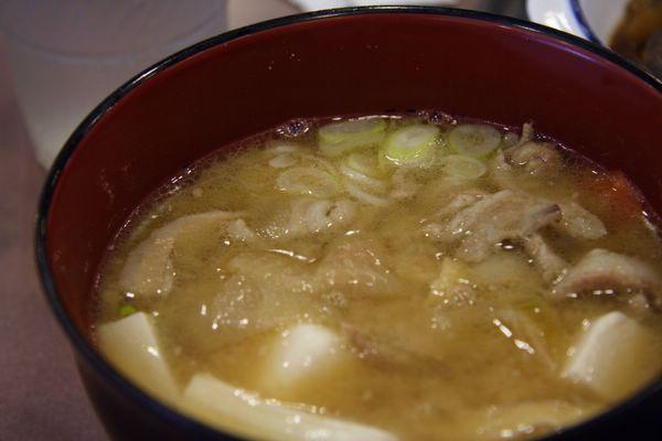 松屋 -- 豬肉湯 (豚汁)