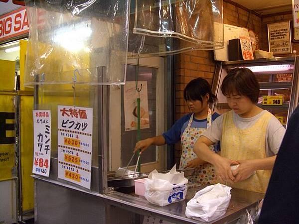 黑門坂本 -- 炸物的小攤子