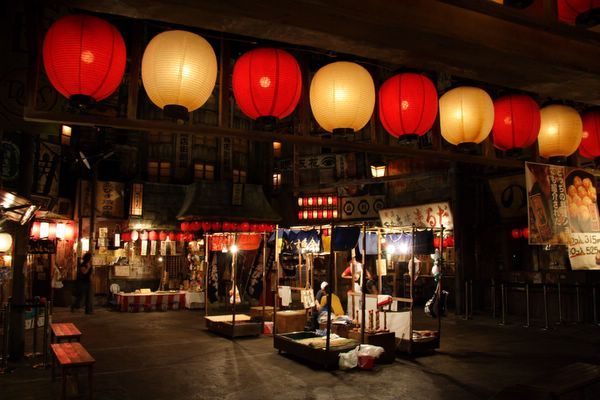 道頓堀極樂商店街 -- 夜祭!