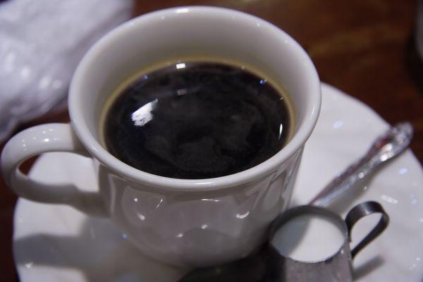 不知名咖啡店 -- 熱咖啡