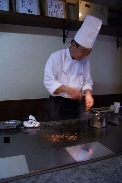Tor Road Steak Aoyama -- 主廚