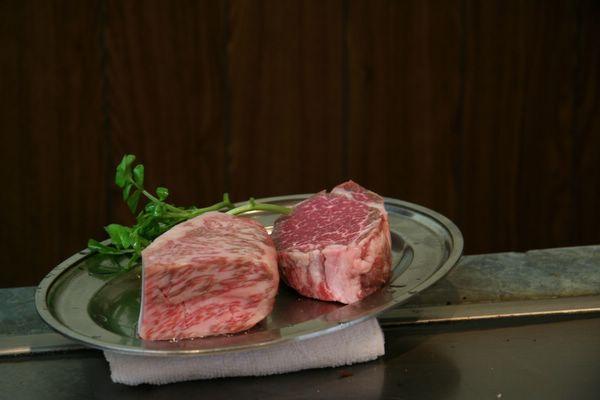Tor Road Steak Aoyama -- 我們的牛排