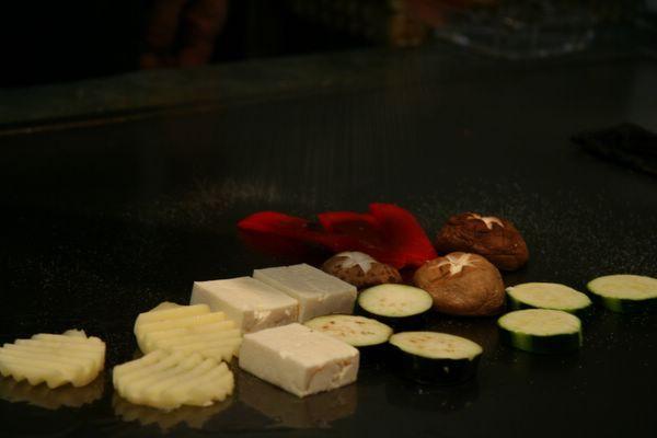 Tor Road Steak Aoyama -- 各式蔬菜