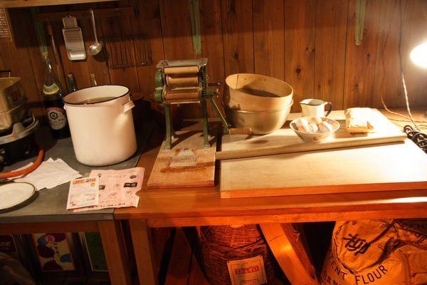 速食麵發明紀念館 -- 當年試製的器具