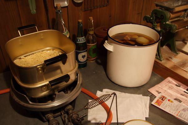 速食麵發明紀念館 -- 蒸麵?