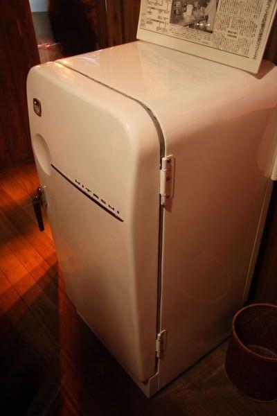 速食麵發明紀念館 -- 充滿懷舊氣息的冰箱