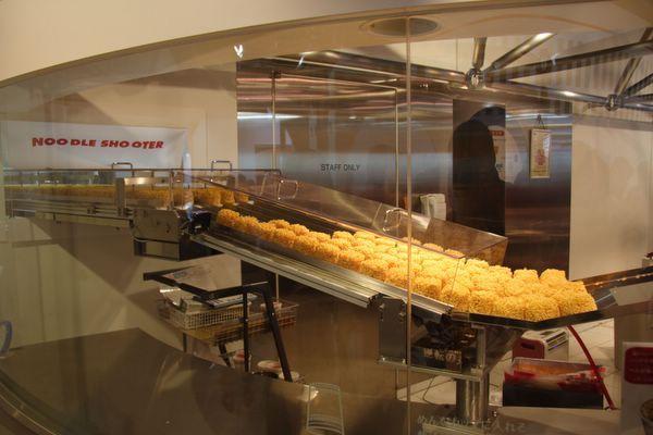 速食麵發明紀念館 -- 好多麵條啊