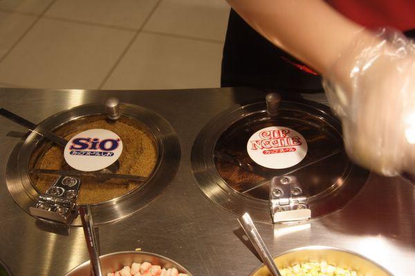 速食麵發明紀念館 -- 鹽味 & 原味調味粉