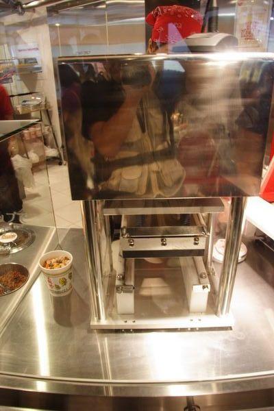 速食麵發明紀念館 -- 這是什麼機器?