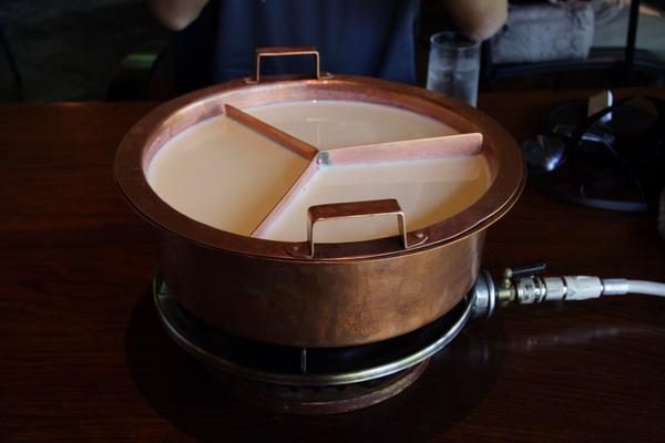 南禪寺順正 -- 湯葉鍋