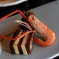南禪寺順正 -- 前菜之長臂蝦