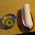 瓢亭 -- 茶 & 熱手巾
