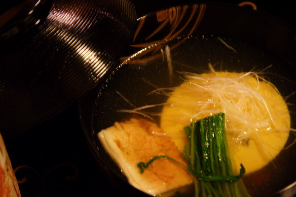 瓢亭 -- 煮物椀