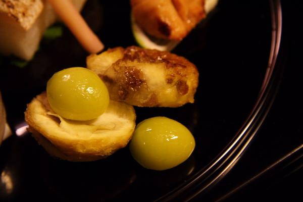 瓢亭 -- 八寸之燒栗 & 銀杏