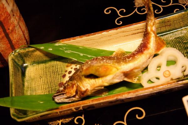 瓢亭 -- 燒物