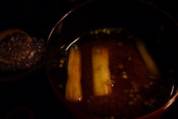 瓢亭 -- 赤出汁