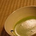 瓢亭 -- 抹茶