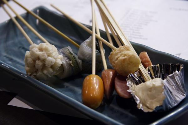 神樂食堂 串家物語 -- 各式各樣的食材