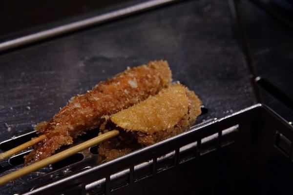神樂食堂 串家物語 -- 蝦子、茄子