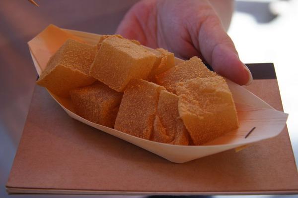 北野天滿宮廟前市集 -- 蕨粉糕