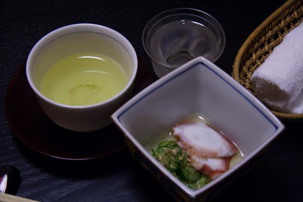 すきやきいろは -- 茶 & 酢章魚