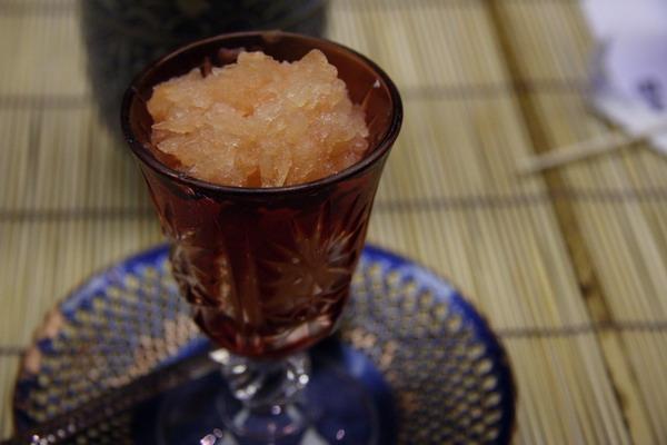 八坂園堂 -- 柚子雪酪