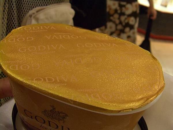 Godiva -- 比利時黑巧克力冰淇淋