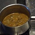 Spoon -- 摩利菌醬汁完成圖