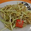 小桃園 -- 薤黃銀魚炒扇貝