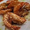 小桃園 -- 醬油乾煎大蝦