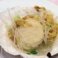 容龍海鮮酒家 -- 蒜泥粉絲蒸扇貝