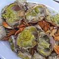 容龍海鮮酒家 -- 清蒸奄仔蟹 & 重皮蟹