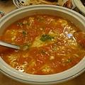 四姐川菜 -- 蕃茄蛋花湯