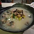 煮館 -- 方魚香菇肉粒魚湯泡飯