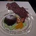 Harlan's -- 軟心巧克力蛋糕配香草雪糕