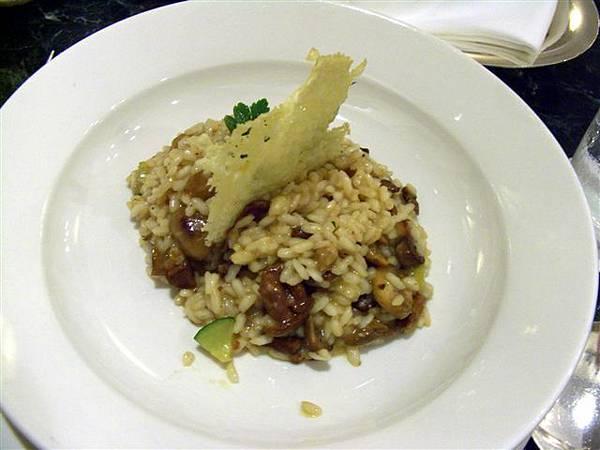 Petit Pomerol -- 雜菌義大利燴飯