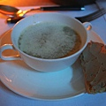 The Grill -- 磨菇湯、鵝肝醬吐司