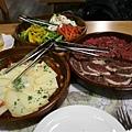 Lafuma -- 熱石烤肉材料全圖