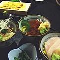 島八 -- 三色丼定食