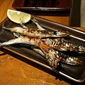 爐端燒 -- 燒多春魚