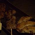 一門 -- 免治雞肉串、牛舌、雞翅