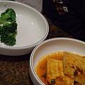 莊園 -- 綠椰菜花 & 辣煮豆腐