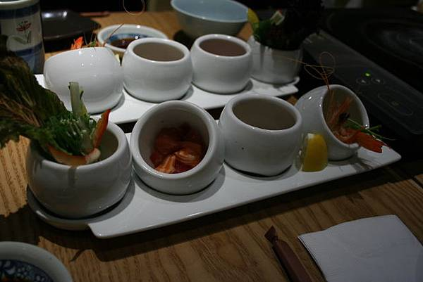 悠 -- 四式前菜 (附餐)