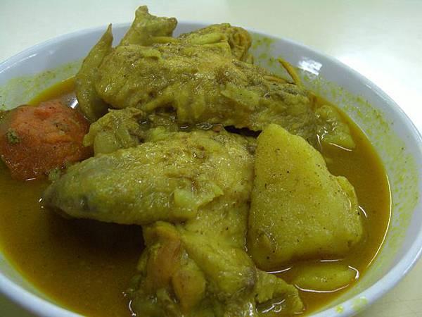明珠越南餐廳 -- 咖喱雞飯