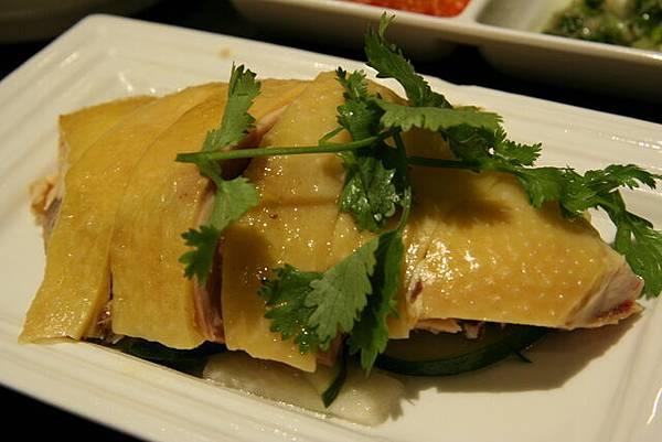南亞餐廳 -- 海南雞飯 (近攝)