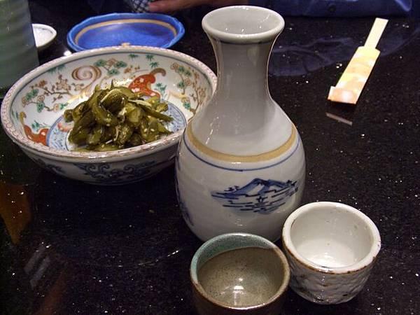 袖山 -- 清酒 & 古漬