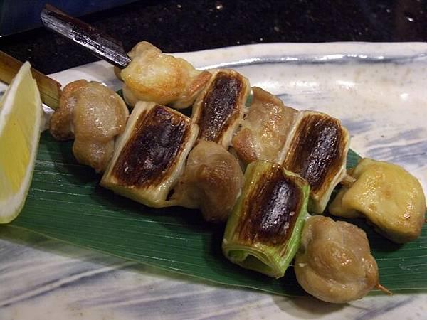 袖山 -- 大蔥雞肉串