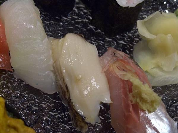 袖山 -- 謎樣之白身魚、鮑魚、池魚