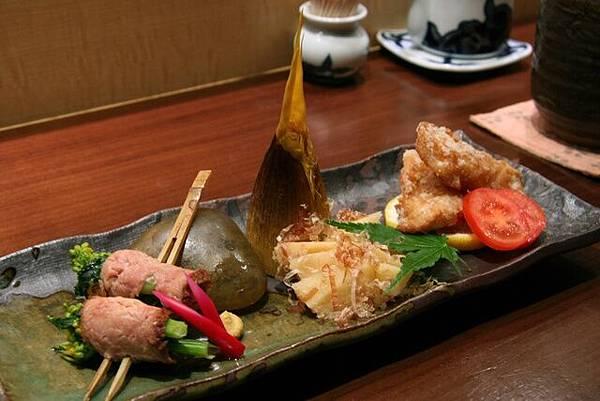 月の麗鮨旬菜-- 懷石料理的前菜