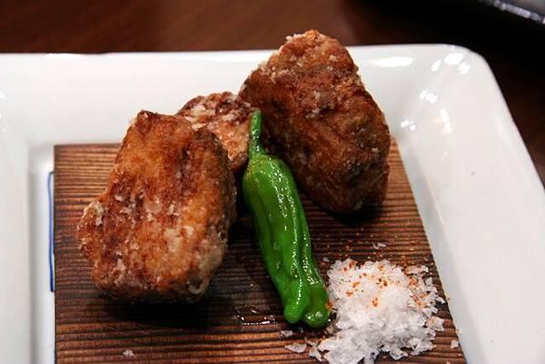 月の麗鮨旬菜 -- 懷石料理的揚物